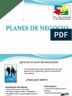 Diapositivas Planes de Negocio