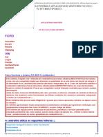 Fic Eec-IV Efi-multiponto Sistema de Injeção Eletrônica Aplicativos Wv_ford_ Oficina Mecânica Jupiara
