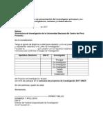 Anexo2.Carta de Presentacion de Investigadores