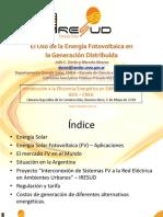 El Uso de La Energ Fotovoltaica en La Generacion Distribuida - Argentina