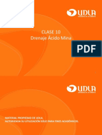 UNIDAD 10 - DRENAJE ACIDO