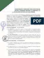 Convenio Entre El GRLL y La Municipalidad Distrital de Casa Grande
