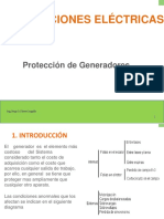 Protecciones de Generadores