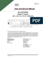Operator and Service Manual .. Instalacion