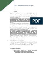 RESISTENCIA MÚLTIPLE A ENFERMEDADES (MDR) EN PLANTAS