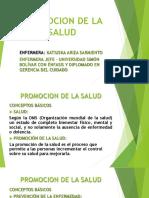 Promocion de La Salud Historia Natural de La Salud