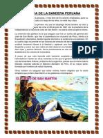 Historia de La Bandera Peruana
