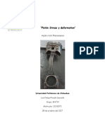 Pistón Stress y Deformation 2