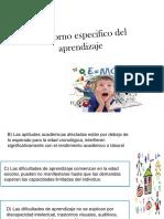 6. Trastorno Especifico de Aprendizaje-Asesoria