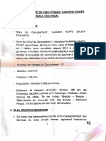 Governor Kande's Report to Government on Security Situation July 2016