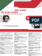 Programação - Seminário 200 Anos de Karl Marx