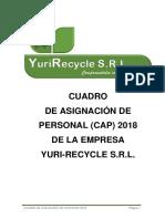 Cap de Yuri-recycle s.r.l