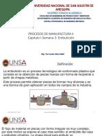1. Procesos de Manufactura II-2018 (a) , Cap. II - Semana 3.
