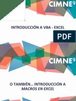 1. Introducción VBA - Excel