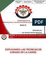 PPT -EXPLICANDO LAS TÉCNICAS DE CURADO DE LA CARNE. 10° sesion.pdf