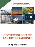 01 Geotecnologia de Las Cimentaciones Mittal 2012