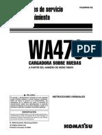 O&M WA470-6  H50051-UP  VSAM946102