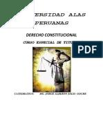 Derecho Constitucional Titulación