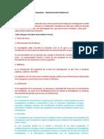 ESQUEMA Inestigacion Formativa 3 UNIDADES