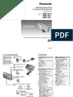 Betjeningsvejledning til Panasonic Lumix DMC-TZ8 TZ9 TZ10 (Dansk)