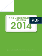 The Motor Industry of Japan 2014