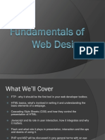 Fundamentals of Web Design v2