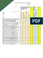 Calificaciones de Competencias y Capacidades