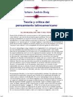 Roig - El Problema Del Ser y Del Tener