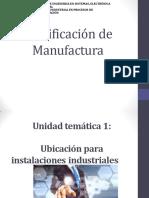 Clase 4 Planificación de Manufactura
