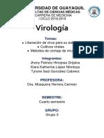 Cultivos Celulares-Virología