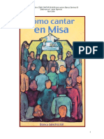 Como Cantar en Misa Blanca Sanchez Gil
