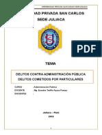 Monografia Delitos Contra Administracion Publica