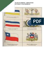 6º Escudos y Banderas Chilenas