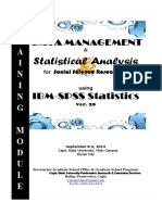 Basic Statistics (Data Management&Stat Analysis)