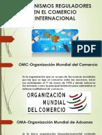Organismos Reguladores en El Comercio Internacional