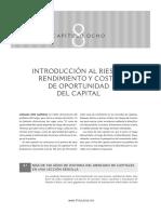 L1. Cap8-Introducción al riesgo, rentabilidad y costo de oportunidad del capital