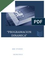 INFORME+03-PROGRAMACION+DINAMICA