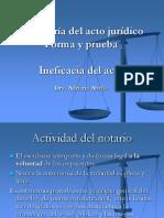 Teoria del acto juridico Codigo Civil y Comercial