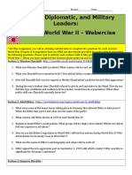 webercise ww2 leaders