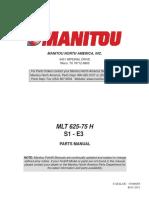Manitou MLT625 PartsManualT3 Small