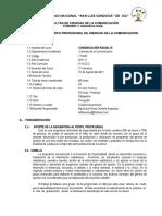 1T1065 Comunicación Radial I