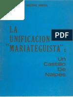 Guillermo Herrera - La unificación mariateguista.pdf