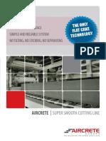 Aircrete Cutting Technology
