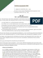 Art. 47 EGBGB Vor- Und Familiennamen