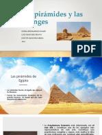 .1Las pirámides y las esfinges