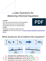 Balancing Chemical Equations - Clicker Questions - Annotated.pptx