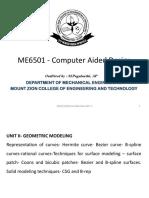 ME6501-CAD UT-2 ppt