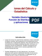Variables Aleatorias y Funciones de Distribución