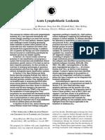 Pediatric Acute Lymphoblastic Leukemia