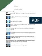 Openshot - Lista de Efectos